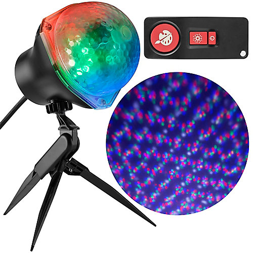 Star Spinner Multi-Colour LED 61-Effect Holiday Image Projector