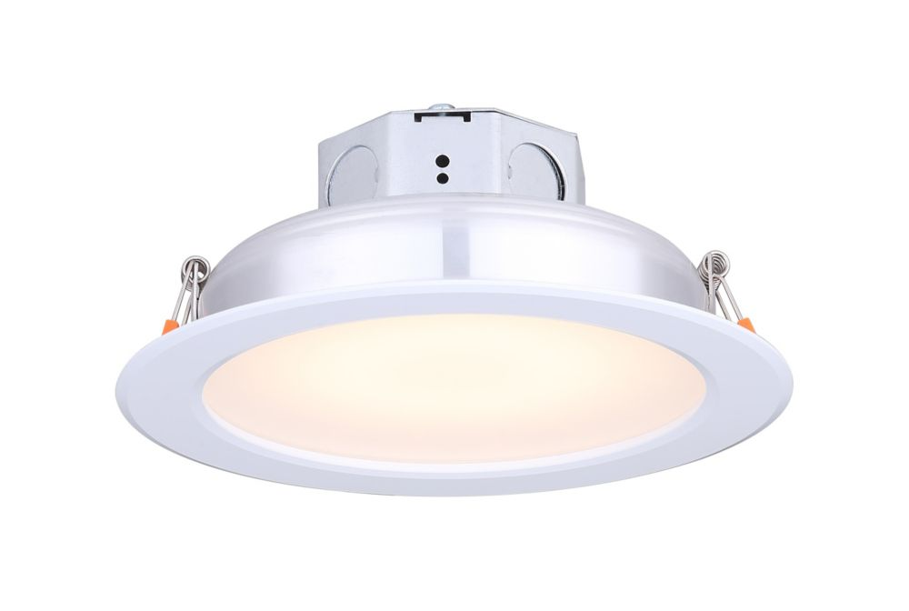 Canarm Ltd 6 inch LED White Recessed Round Downlight - ENERGY STAR®