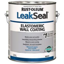 Leakseal 3 78l Elastomeric Wall Coating White
