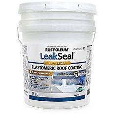 Revêtements pour Toits Élastomérique Leak Seal 17 Ans 18.9L