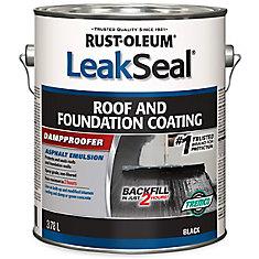 Enduit pour toitures et fondations, 3,78 l