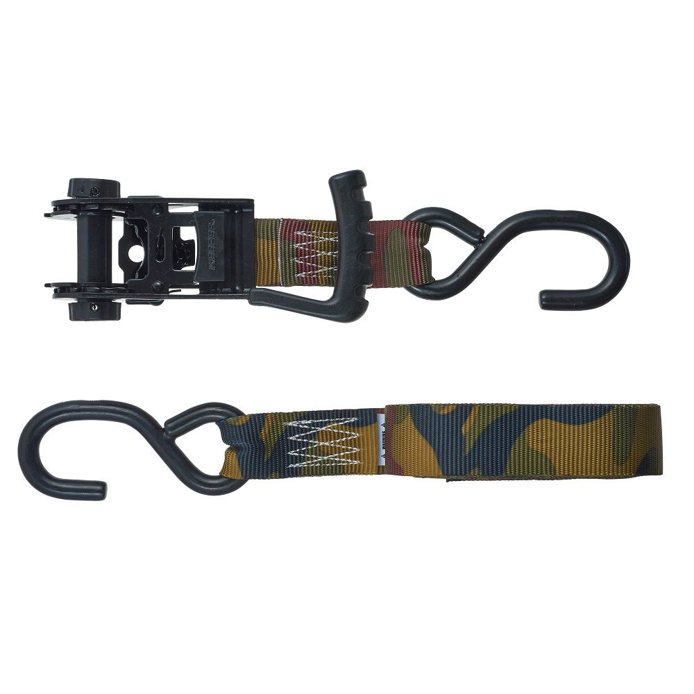 Keeper products 16 feet x 1.25 inch Ergo-Torque Ratchet Tie-Down, 2-Pack