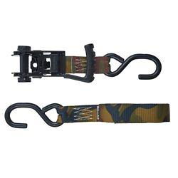 Keeper products Sangle d'arrimage à cliquet Ergo-Torque de 4,88 m x 3,18 cm (16 pi x 1,25 po), paquet de 2