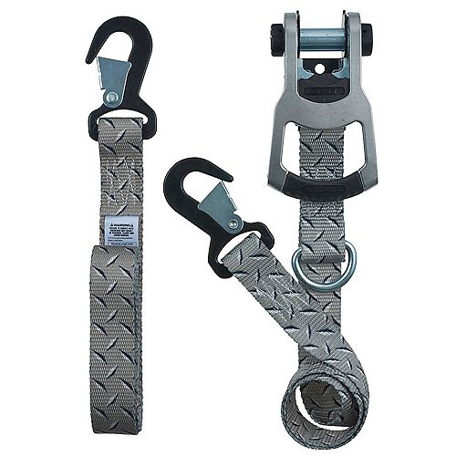 Keeper products 8 feet x 1.25 inch Diamond Plate Ratchet Tie-Down