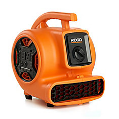Air Mover 600 CFM Portable Floor Dryer & Blower Fan With Power Outlets For Daisy Chain