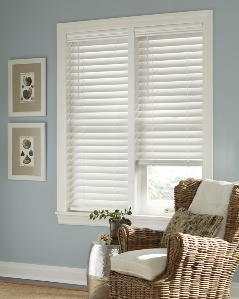 Home Decorators Collection Blinds: Home Decorators Collection 2.5-inch Cordless Faux Wood