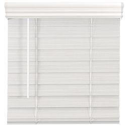 Home Decorators Collection Store en similibois de qualité supérieure sans cordon de 6,35cm Blanc 1,67m l x 1,21m H