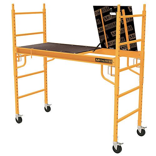 Safeclimb Baker Style 6 ft. x 6 ft. x 2-1/2 ft. Scaffold 1100 lbs. Capacity