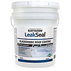 Revêtements pour Toits Élastomérique Leak Seal 7 ANS 18.9L