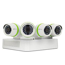 EZVIZ 4-Channel 720p Surveillance System w/ 4 Bullet Cameras and 1TB DVR