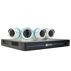 8-Channel 1080p Surveillance System w/ 4 Bullet Cameras and 2TB NVR