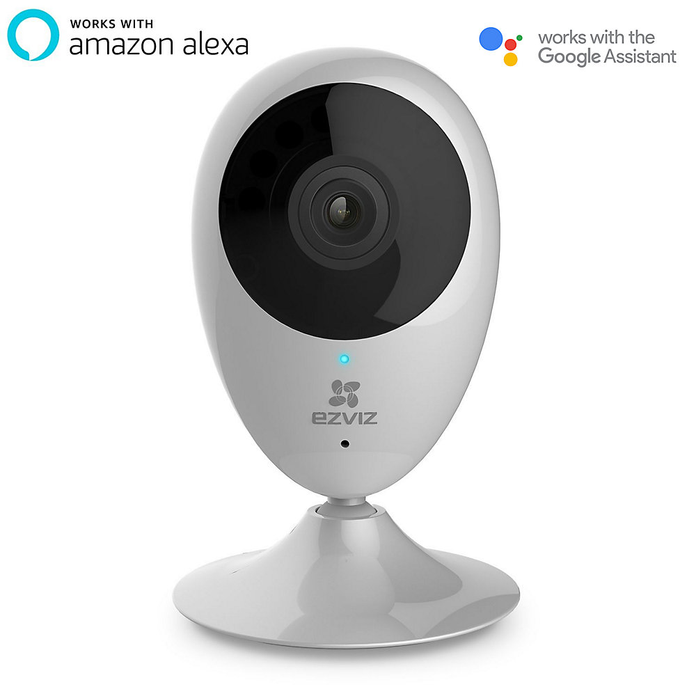 Mini O 720p Wi-Fi CloudCam with Google Assistant and Amazon Alexa  Compatibility