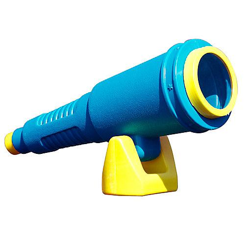 Télescope pour ensemble de jeux de luxe en bleu