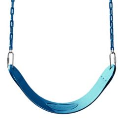Swing-N-Slide Playset Swing seat with Chain in Blue