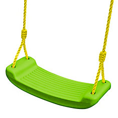 Molded Playset Swing in Green