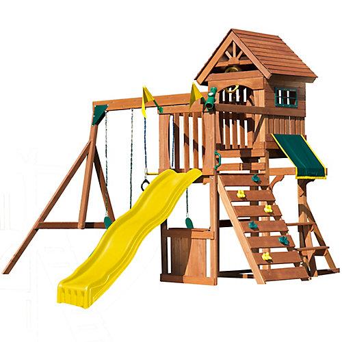 Ensemble de jeux complet en bois Jamboree Fort