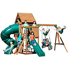 Tremont Tower Wood Complete Playground Set