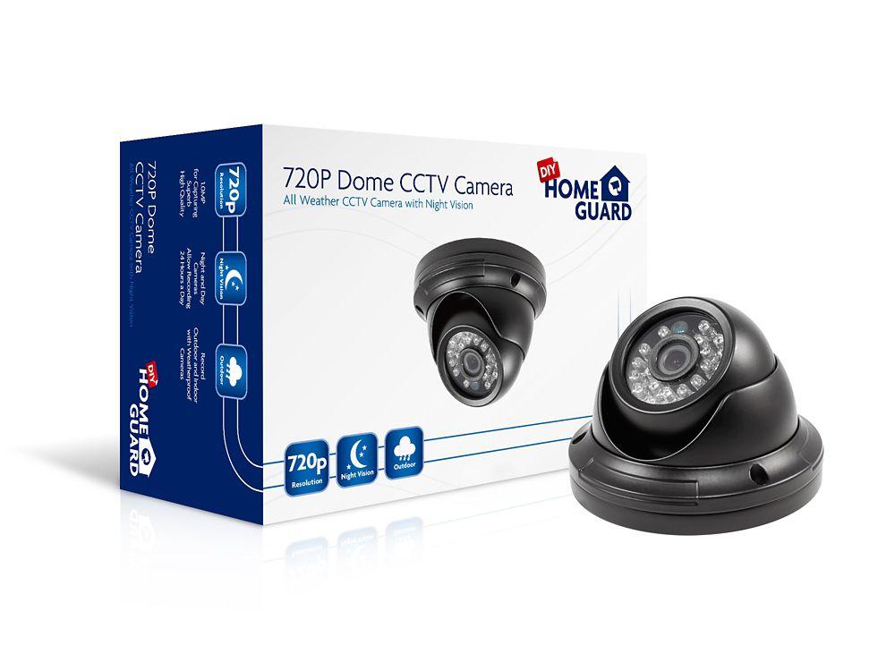 Homeguard Smart 720p HD Dome Camera