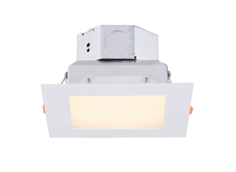Canarm Ltd 4 inch LED White Recessed Square Downlight - ENERGY STAR®