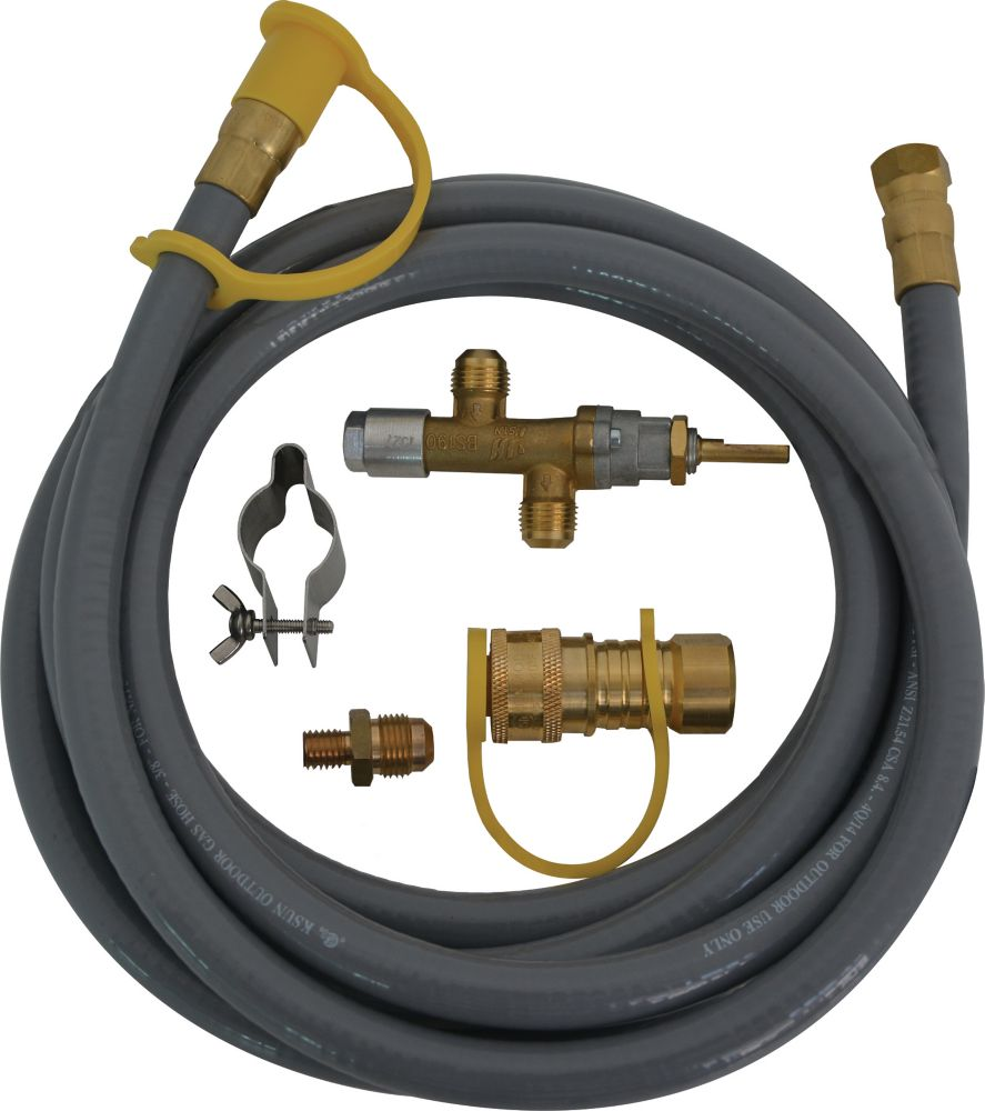 Home Depot Universal Natural Gas Hose Kit