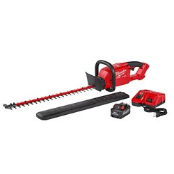 Milwaukee Tool M18 FUEL 18V Li-Ion Brushless Cordless Hedge Trimmer Kit w/ 9.0Ah Battery & Rapid Charger