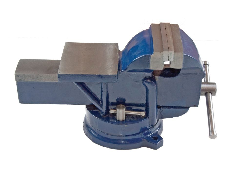 Firm Grip 4 Inch Bench Vise with Swivel Base