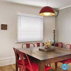 Home Decorators Collection Store en similibois de qualité supérieure sans cordon de 6,35cm Blanc 91,44cm l x 1,21m H