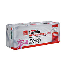 Stone wool fire sound insulation the home depot canada for Thermafiber insulation prices