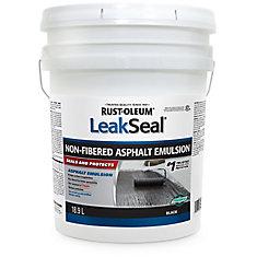 Émulsion d'Asphalte Non Fibreuse Leak Seal 18,9L
