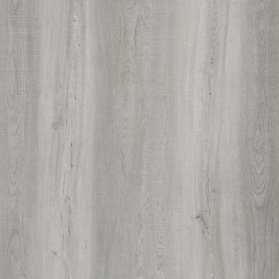 75 Inch X 476 Light Grey Oak Luxury Vinyl Plank Flooring Sample