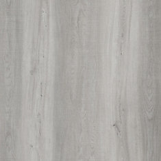 7.5 inch x 47.6 inch Light Grey Oak Luxury Vinyl Plank Flooring (Sample)