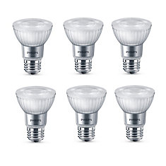 50W Equivalent Soft White WarmGlow PAR20 Dimmable LED Light Bulb (3-Pack)