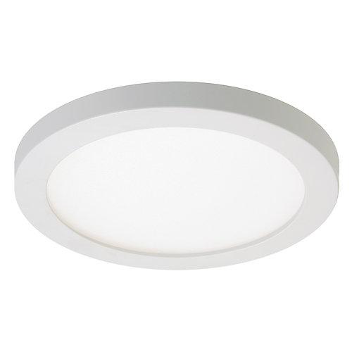 Luminaire à DEL encastré montage en surface avec boîte de jonction, 4 po, rond- ENERGY STAR®