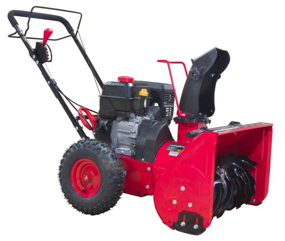 22-inch 212cc 2-Stage Manual Start Gas Snow Thrower