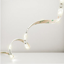 Illume Five 1 meter (196-inch) Warm White LED Flexible Tape Light Kit IR Remote and Plug-In Driver