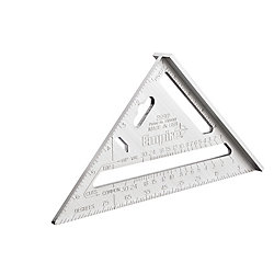 Milwaukee Tool Magnum Fat Boy 7-Inch Aluminum Rafter Square (2-Pack)
