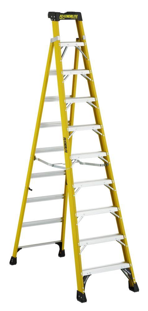 Featherlite Fibreglass Step Ladder 8 Feet Grade I The