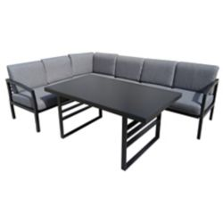 F.Corriveau International Rochester 3-Piece Patio Sectional Dining Set