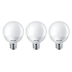 Philips LED 40W Globe Daylight Non Dim (3-Pack) - ENERGY STAR