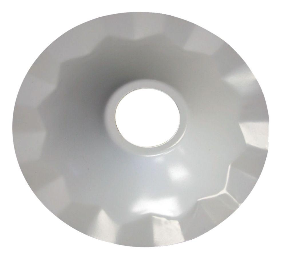 Atron Metal Pendant Light Shade White - 7.5 inch