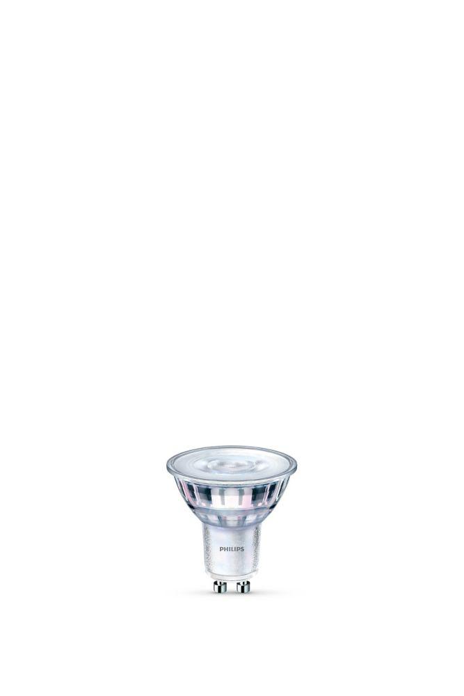 Philips LED 50W GU10 Soft White WarmGlow Glass - ENERGY STAR®