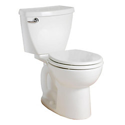 American Standard Cadet 4.8L Round Front Complete Toilet in White