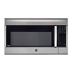 GE Profile 1.8 CF OTR Microwave in Stainless Steel