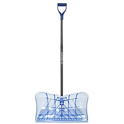 Yukon Garant 22-inch Snow Pusher w/ TPE comfort Handle and Resistant Polycarbonate Blade