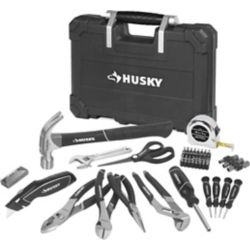 HUSKY Homeowner's Tool Set (63-Piece)