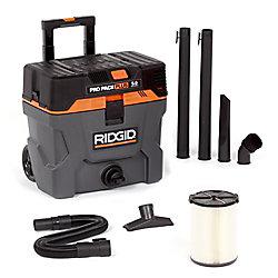 Pro Pack Plus 37.5 L (10 Gal.) Portable 5 HP Wet/Dry Vacuum