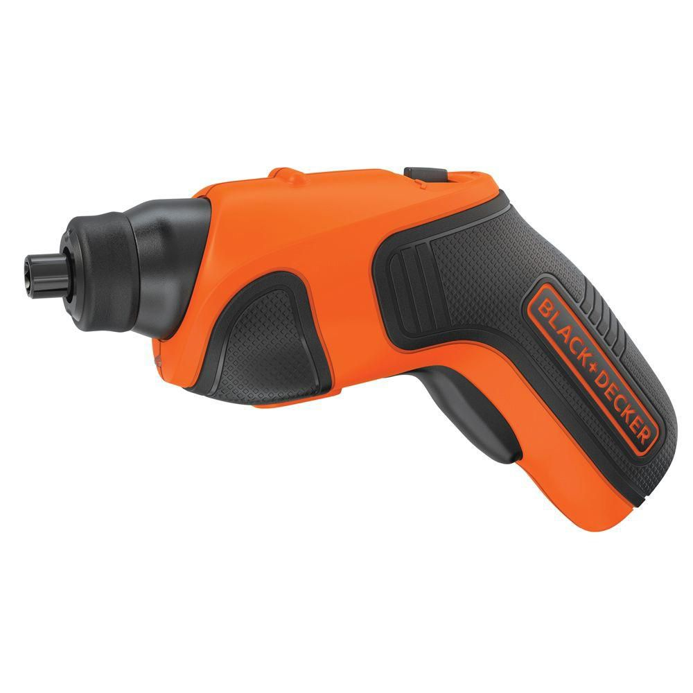 Black & Decker 4V MAX Lithium-Ion Cordless Rechargeable Screwdriver