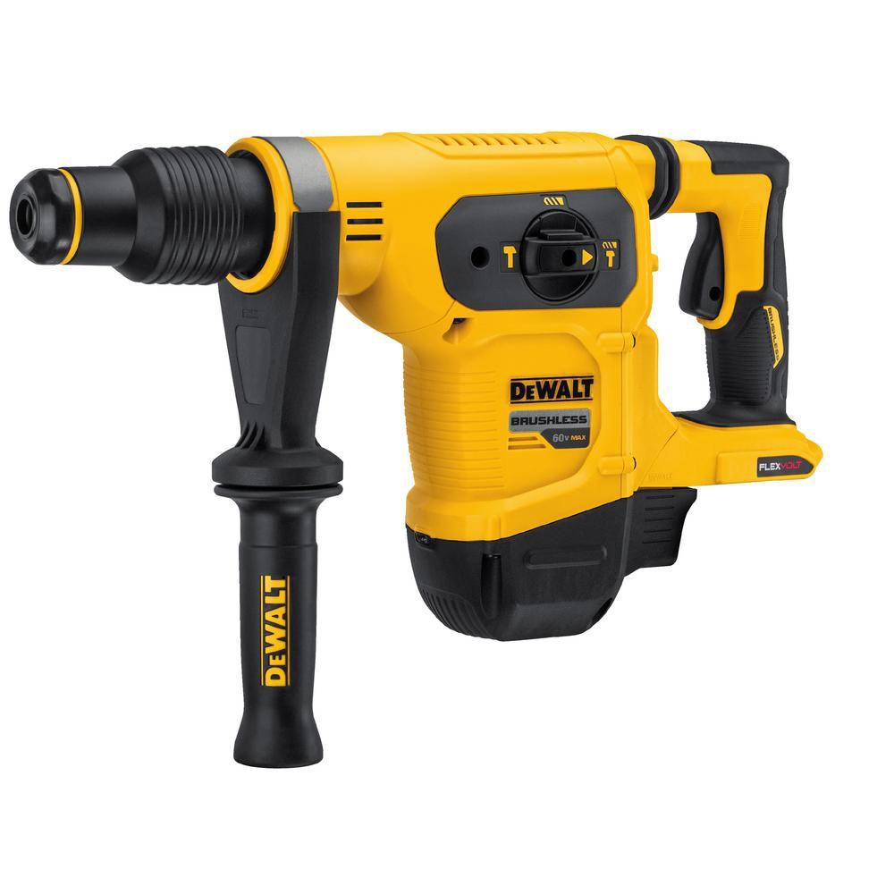 FLEXVOLT 60V MAX 1-9/16 Inch SDS Combination Hammer - Tool Only