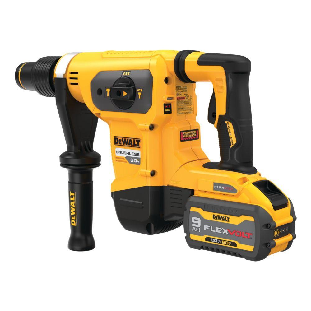 DEWALT FELXVOLT 60V MAX 1-9/16 Inch SDS Combination Hammer Kit