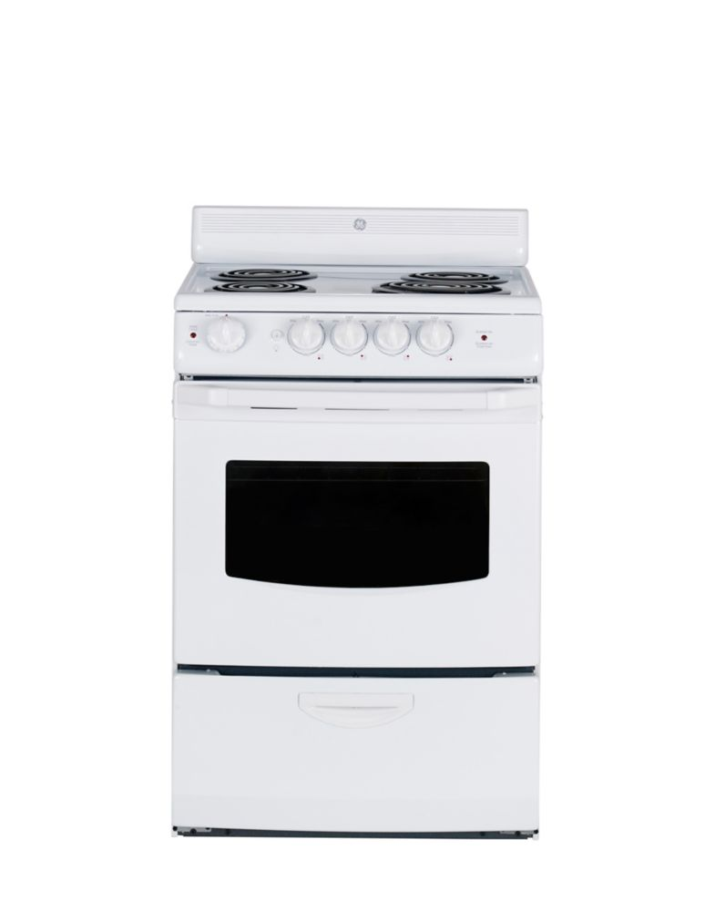 24 Inch Electric Range Ra724kwh Hotpoint 24 Gas Ranges